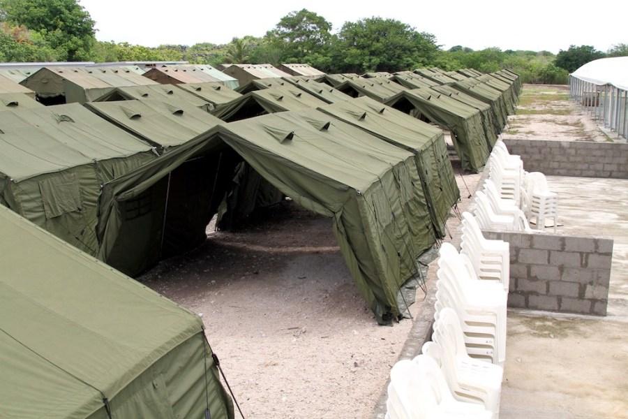 Manus camp. Photo: Greens MPs