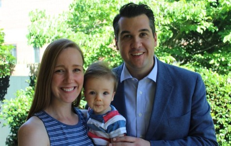 MP Michael Sukkar with wife Anna and their first child, Leo. PHOTO: From Michael Sukkar's website.