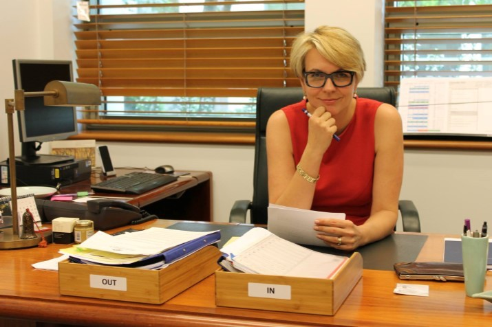 Tanya+Plibersek+at+her+desk.+Photo%3A+Supplied