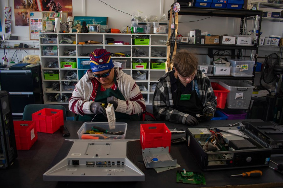 Volunteers power program to divert eWaste