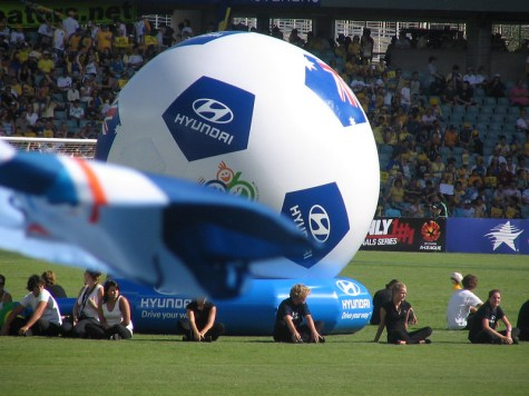 An A-League match. Photo: Mathew F (CC BY-NC-ND 2.0)