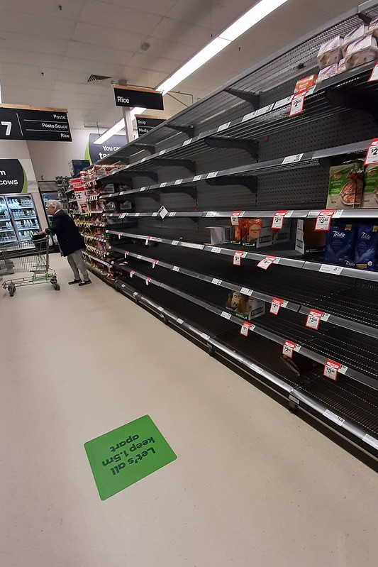 The+rice+aisle+stripped+bare+at+Woolworths+in+Katoomba.+Photo%3A+Blue+Mountains+Library+%28CC+BY-SA+2.0%29