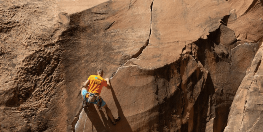 Climbers caught between a rock and a social movement