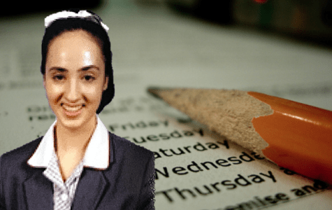 It's been a particularly challenging year for Victorian VCE students like Siena Carrideo (photo: supplied; background image by Ryan McGilchrist CC BY-SA 2.0)