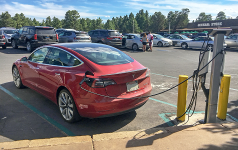 PHOTO: EV charging station. Source: (Flickr: Grand Canyon National Park