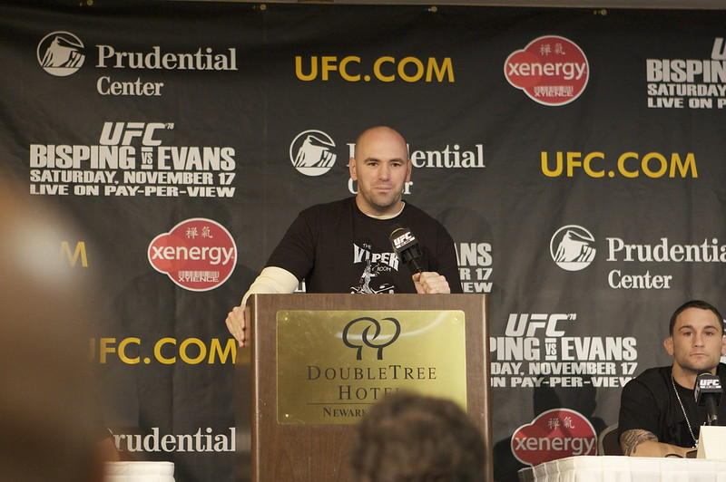 UFC President Dana White. Photo: Jamison Hiner (CC BY-NC 2.0)