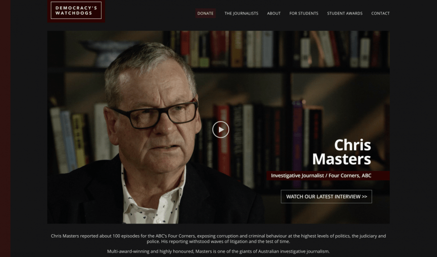 Democracy's Watchdogs with Chris Masters, Part 1