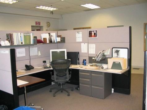 Returning to cubicle life isn
