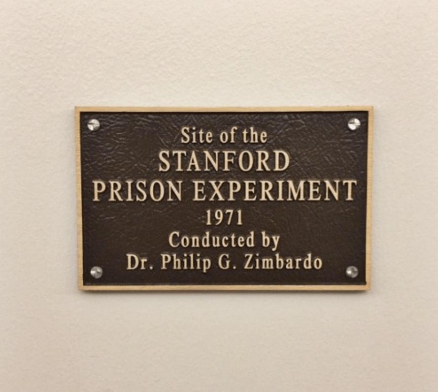 The Stanford Prison Experiment. Photo:  Eric E Castro (CC 2.0)