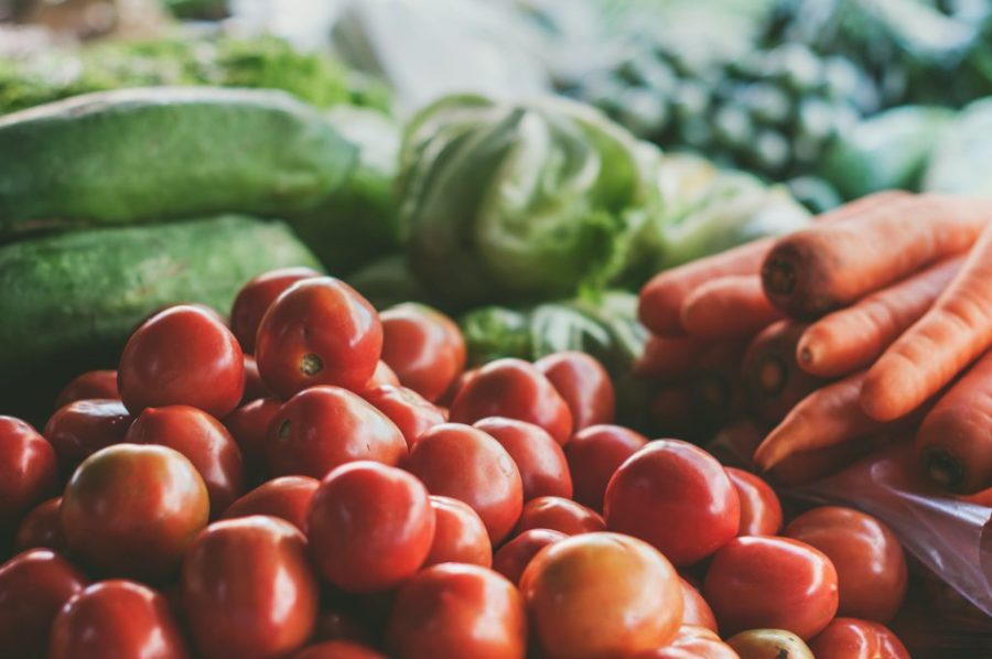 Eating fruit and vegetables can help alleviate stress. Picture credit: Unsplash