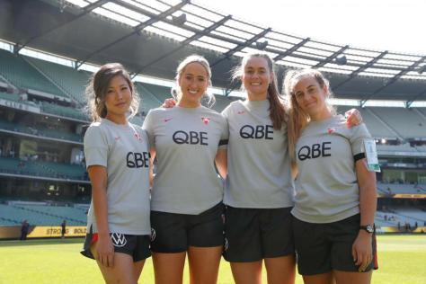 Sydney Swans defend all female training team