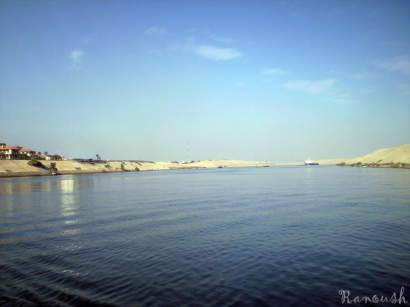 Suez Canal. Photo: Rana Ossama (CC BY-SA 2.0)