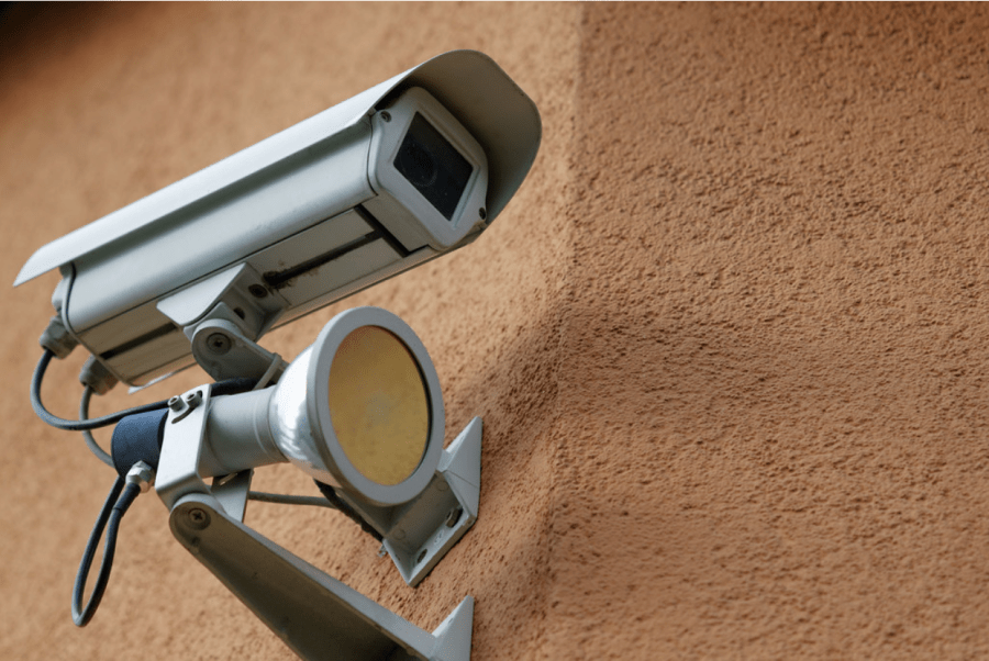 Dahua have facial recognition software installed on their security cameras. Photo: Ervins Strauhmanis (CC BY 2.0.)
