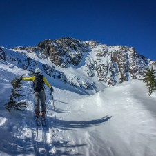backcountry skiing Alaska