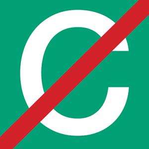 NO C icon 400px