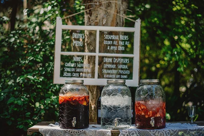 Colorful Eclectic Backyard Wedding Gabe McClintock DIY