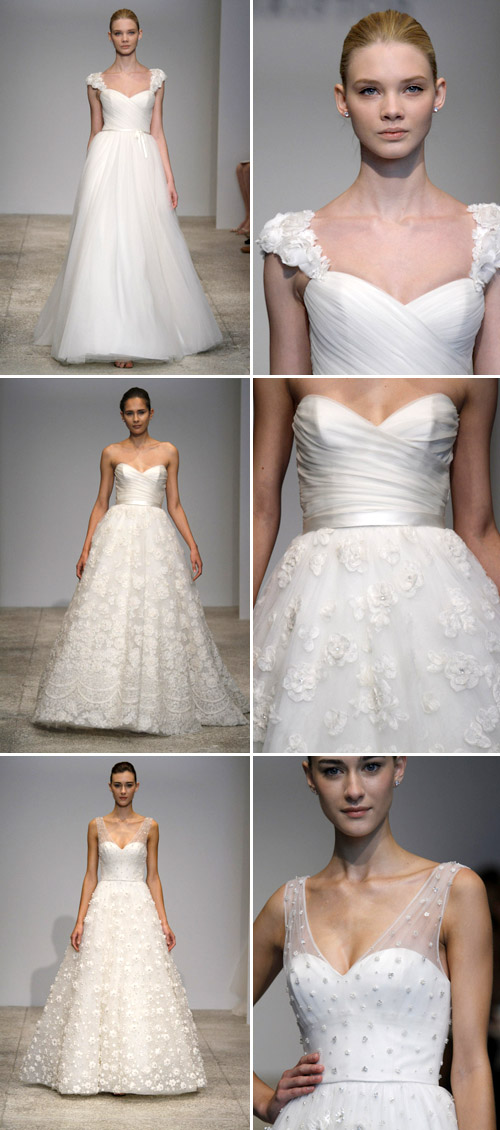 floral wedding dresses by christos