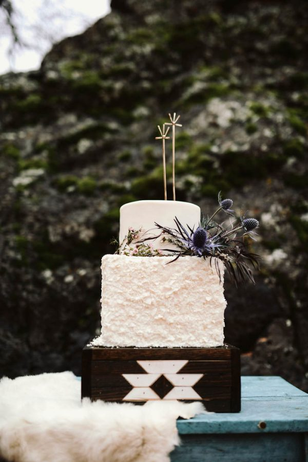This Snow Canyon Elopement Inspiration Nails Southwest