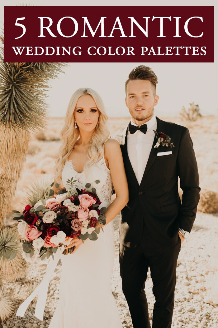 5 Utterly Romantic Wedding Color Palettes Junebug Weddings