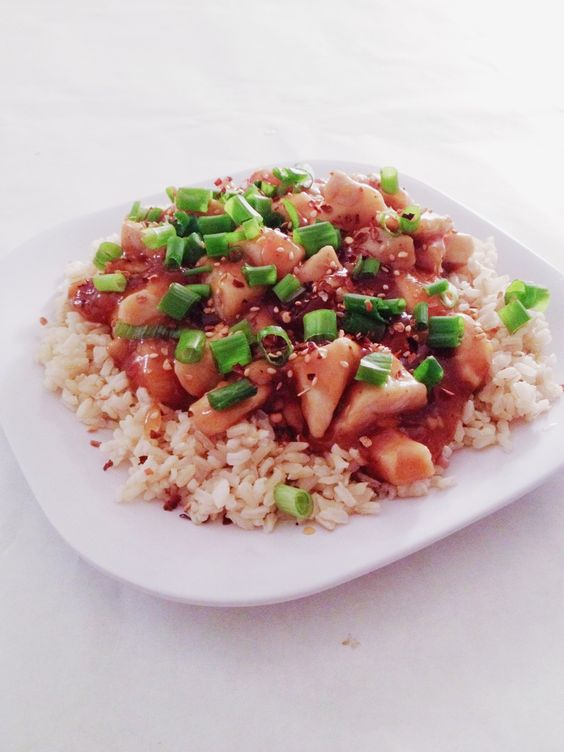 Skinny Orange Chicken