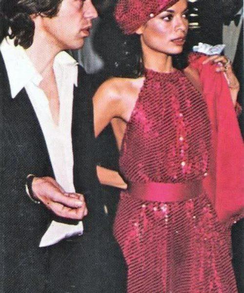 Bianca + Mick Jagger