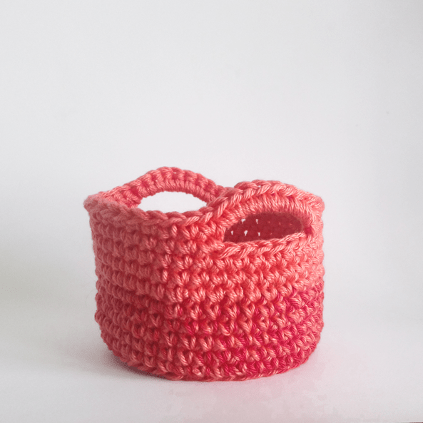 Crochet Basket Pattern Beginner Level June Lee Hooker