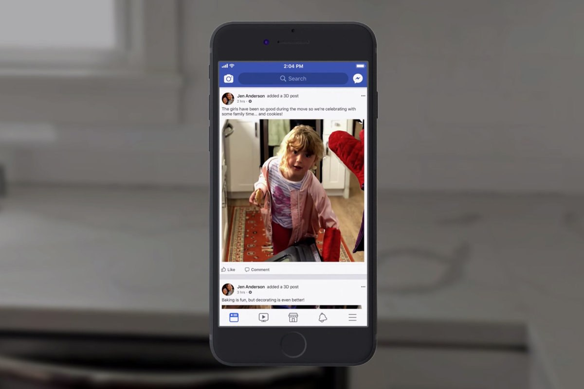 Facebook New Option to Convert 2D Images to 3D Photos