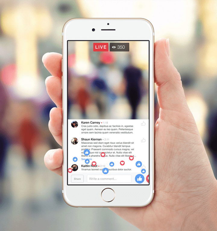 Facebook Live to Support Audio Streaming