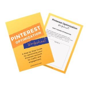 Pinterest Optimization Worksheet - junelevenco.com
