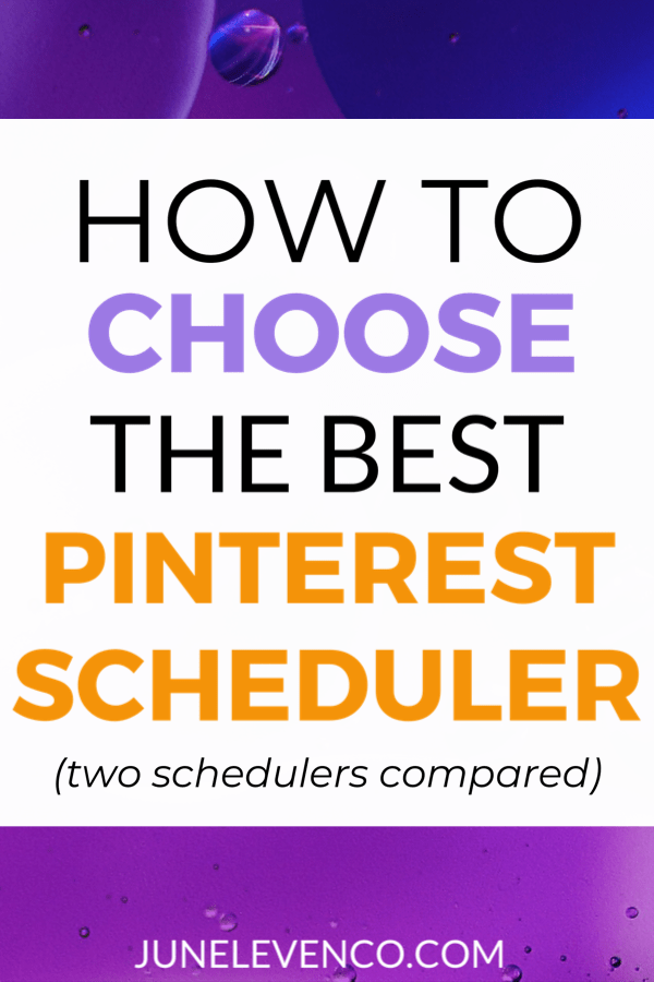 Pinterest Native Scheduler vs Tailwind: Two Pinterest Scheduling Tools Compared
