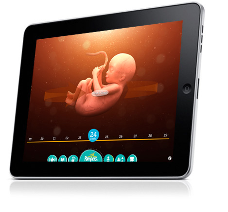 Use iPad App to Track Baby's Growth in Your Belly   June's Journal