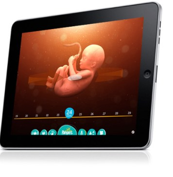 Use iPad App to Track Baby's Growth in Your Belly | June's Journal