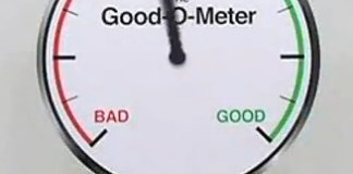 The Good-O-Meter:  Are You Good Enough? | June's Journal