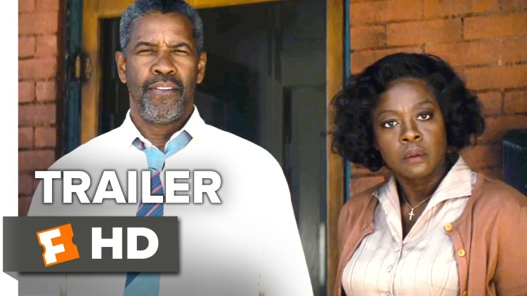 "New Denzel Movie, ""Fences"" Debuts Christmas Day 