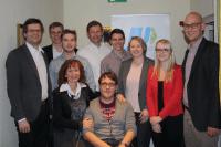 Die Vorstandschaft der JU Deggendorf bei der Jahreshauptversammlung 2017