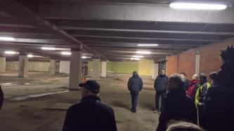Auch im Untergeschoss wird in Zukunft wieder Einzelhandel zu finden sein