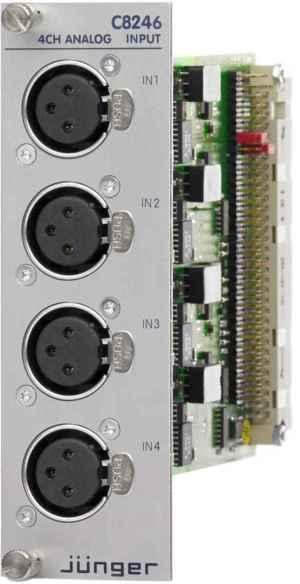Analog Input (XLR)  MODULAR LINE  Jünger Audio