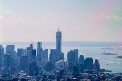 Blick Richtung Süden - Das One World Trade Center