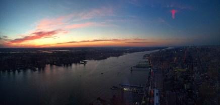 Finale in New York - Der Hudson River