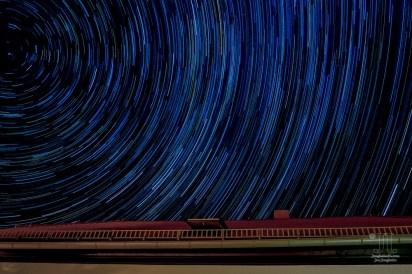 Ein angenehmer Sommerabend bei Freunden und so nebenbei entstand dieses wunderbare Bild der Milchstraße.