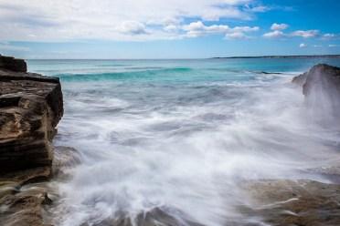 Diese Aufnahmen sind am Strand von Es Trenc entstanden. Zum Einsatz kam ein ND-1000 Filter.