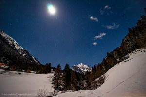 Der Nachthimmel mit den Plejaden