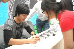 Jung Il-woo 6 CLRide Signing