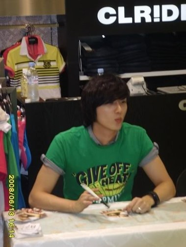 Jung Il-woo 7 CLRide Signing