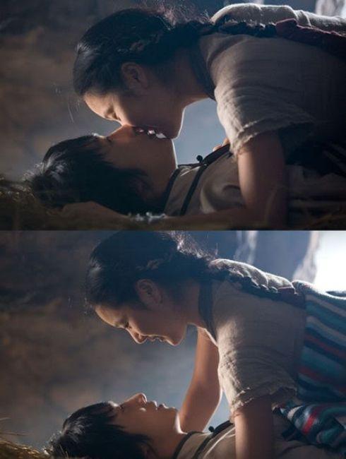 the_return_of_iljimae_kiss_scene