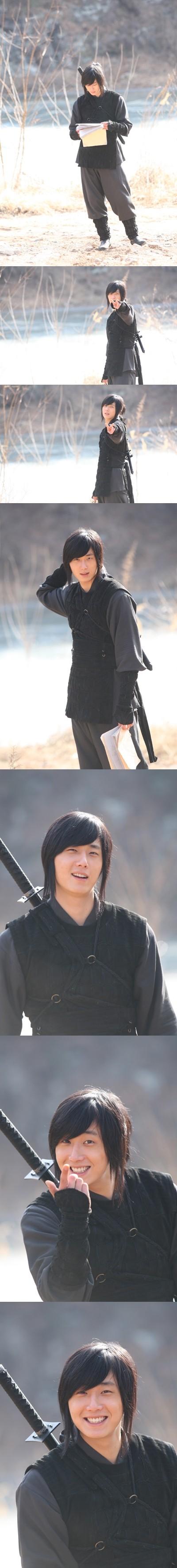 2009 Return Iljimae Cast & BTS 7