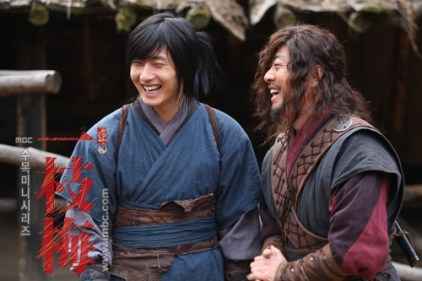 2009 Return Iljimae Cast & BTS 8.5