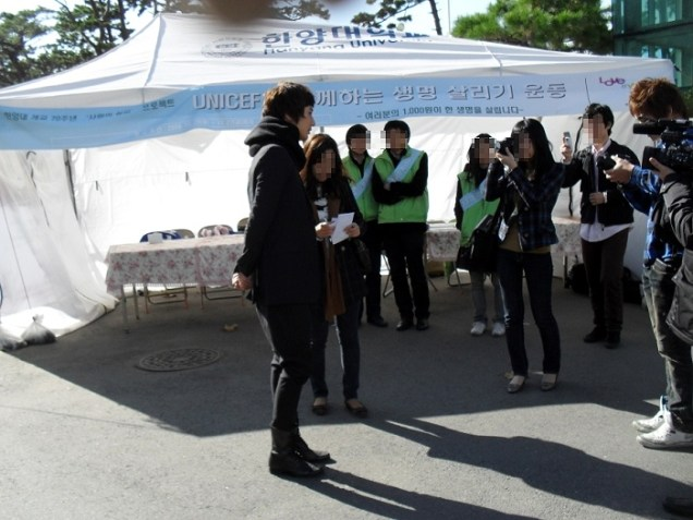 2009 11 11 JIW UNICEF at Hanyang 5