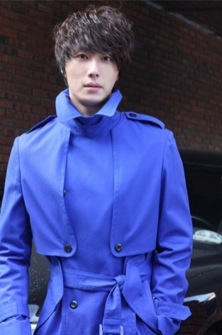 2011 JIW in Blue Overcoat