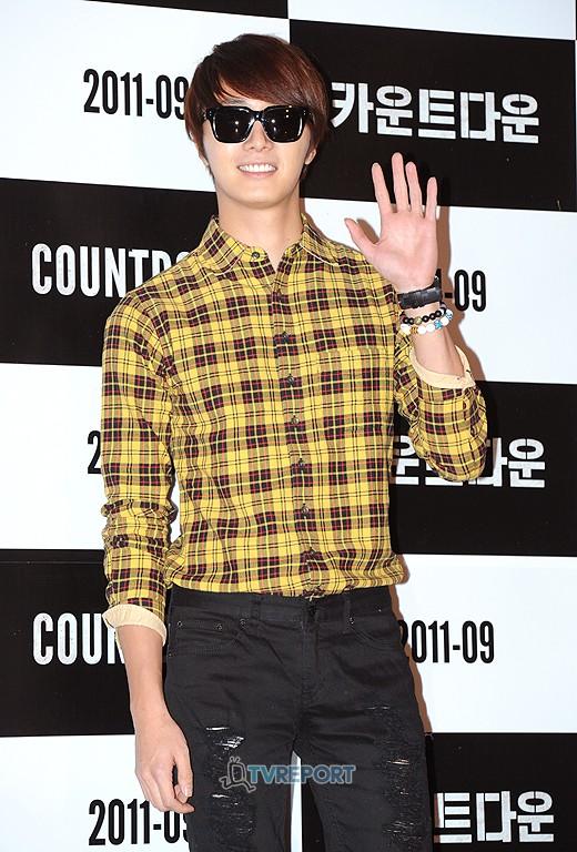 2011 9 20 Jung II-woo D Countodown Premiere 2